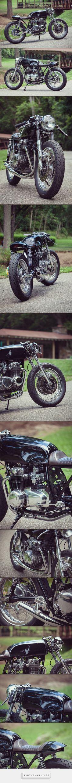 '75 Honda CB550 - Kott Motorcycles - Pipeburn.com - created via https://pinthemall.net