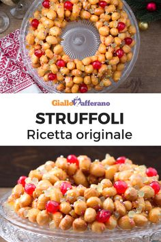 STRUFFOLI STRUFFOLI: one of the most classic and good Christmas sweets of the Neapolitan tradition. Beautiful and elegant, as well as enriching your party table, they will also win your guests! Xmas Food, Christmas Baking, Christmas Sweets, Italian Desserts, Italian Recipes, Struffoli Recipe, Easy Dinner Recipes, Dessert Recipes, Happy Kitchen
