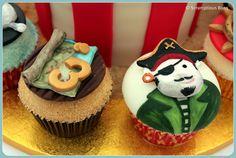 Pirate Cupcakes by Scrumptious Buns (Samantha), via Flickr