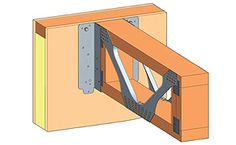 Face Fix Hanger for SIP Panels The IUQ/HIUQ is the first hanger range specifically designed to allow engineered joists to be face fixed to a structural insulated panel (SIP), when used in conjunction with the Simpson Strong-Tie patented SDS Screws. Sip Panels, Structural Insulated Panels, Building Products, Big Houses, Prefab, House In The Woods, Building Materials, Porches, Home Projects