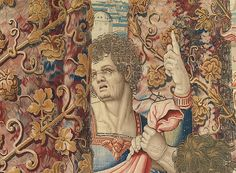 Pieter Coecke van Aelst (Netherlandish, Story of Saint Paul: The Arrest of Paul tapestry (detail), designed ca. woven before Probably woven under the direction of Jan van der Vyst, Brussels. From the collection of the KBC Bank, Leuven. Art Installations, Installation Art, Textile Tapestry, Medieval Tapestry, January 11, Grand Designs, Tapestry Wall Hanging, Metropolitan Museum, Baroque
