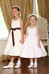 Flower Girl Dresses - Flower Girl Dress Style 5404- BUILD YOUR OWN DRESS! Choice of 139 Sash and 51 Flower Options!