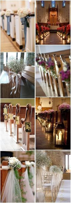 Wedding Decorations » 21 Stunning Church Wedding Aisle Decoration Ideas to Steal » ❤️ See more: http://www.weddinginclude.com/2017/05/stunning-church-wedding-aisle-decoration-ideas-to-steal/ #weddingdecoration #weddingideas