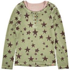 Scotch & Soda - Star-printed T-shirt and light pink top - 76879