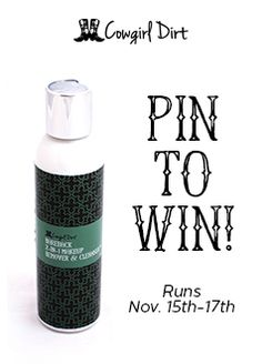Pin this image for your chance to win!