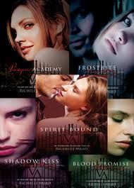 Vampire Academy books these are probably one of the better book series you'll read