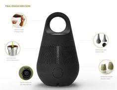Hygge Lantern & Heater on Industrial Design Served