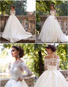 "My FAVOURITE WEDDING DRESS Milla Nova 2016 ""Dominica"""