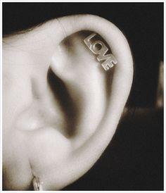 Love Cartilage Earring.