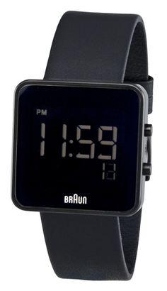 BrAun has some pretty interesting miminalist watches