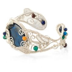 Bratara azurit Wire Wrapped Jewelry, Beadwork, Flamingo, Cuff Bracelets, Handmade Jewelry, Inspiration, Fashion, Flamingo Bird, Biblical Inspiration