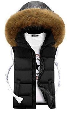 APTRO Men's Cotton-padded Faux Fur Hoodie Warm Vest Waistcoat Black UK S( Tag XL ) APTRO http://www.amazon.co.uk/dp/B015F1TG26/ref=cm_sw_r_pi_dp_mR7xwb0TD7MRQ