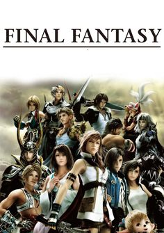 Final Fantasy. A franchise that has been ongoing since my birth! Oh it is magical and aesthetic and they put so much spirit into it, that it almost hurts! It makes me cry happy tears