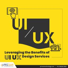 Prisom Technology Leading UI UX design with development. We provide best ideas as well design and suggestion to grow your business. Contact Us today. It Services Company, Design Services, User Interface Design, Ui Ux Design, Alexa Skills, Business Contact, User Experience Design, Small Business Marketing, Web Application