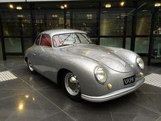 Silver Porsche 356