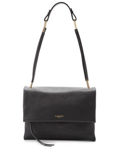 "LANVIN ""Sugar"" Leather Shoulder Bag is on Rue. Shop it now."