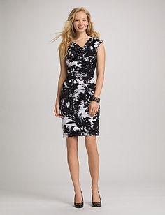 roz & ALI™ Statement Print Dress | Dressbarn | Pinterest | Print ...