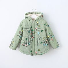 32.01$  Buy here - https://alitems.com/g/1e8d114494b01f4c715516525dc3e8/?i=5&ulp=https%3A%2F%2Fwww.aliexpress.com%2Fitem%2F2016-Children-s-Clothing-Embroidered-Polka-Dot-Girls-Winter-Jacket-Hooded-Girls-Outwear-Cotton-Padded-Children%2F32753882040.html - 2017 Children 's Clothing Embroidered Polka Dot Girls Winter Jacket Hooded Girls Outwear Cotton-Padded Children's Winter Jackets 32.01$