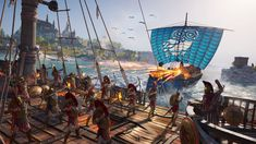 Ubisoft has a new Assassin's Creed Odyssey trailer out with a focus on combat and the many abilities that players will utilize. Like any Assassin's Creed gam. Ps4, Playstation, Mega Man, Xbox One, Best Assassin's Creed, News Games, Video Games, Pc Games, La Grande Motte