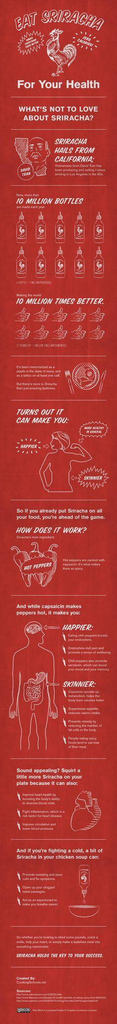 Eat Sriracha!