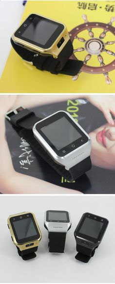 ZGPAX S8 Android 4.4.2 3G Watch Phone w/ 512MB RAM, 4GB ROM - Black - Free Shipping - DealExtreme