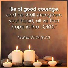 PSALMS  31:24