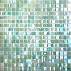 """Perhaps do a tiled """"recessed"""" (i.e. inside coffer) portion over dining table. iridescent glass mosaic tile series is one of our most popular glass mosaic ..."""