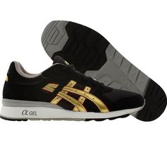 Asics GT-II (black / gold) H224N-9094 - $79.99