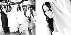 Mottram Hall Wedding Photography .. The #bride walking to the church wedding ceremony in #wilmslow #cheshire
