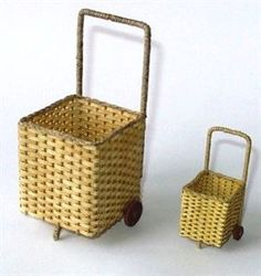 Weave your own miniature dolls house shopping trolley - Contemporary Projects - Dolls House & Miniature Scene - Hobbies And Crafts