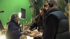 Thorin serving tea bts. ~ I'd like to take the waiter. Thank you.