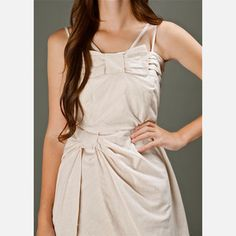 Alabaster Dress Cream, $85, now featured on Fab.