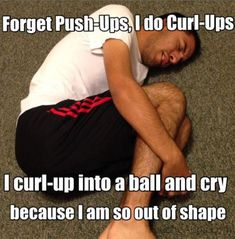 That's how I work out