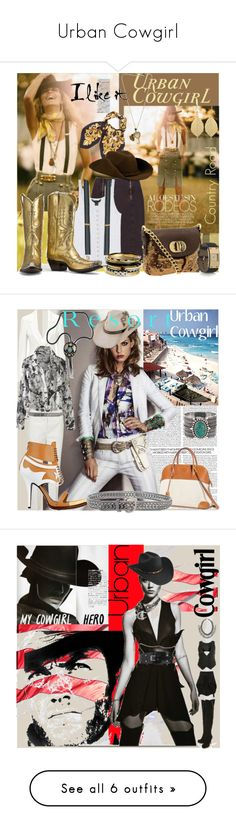 """""""Urban Cowgirl"""" by ivansyd ❤ liked on Polyvore featuring McQ by Alexander McQueen, Badgley Mischka, Chameleon Jewelry, Givenchy, Marc by Marc Jacobs, Juicy Couture, Dolce&Gabbana, Michael Kors, cowgirl and pencil skirt"""