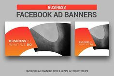 Business Facebook Ad By UNIK Agency On Creativemarket