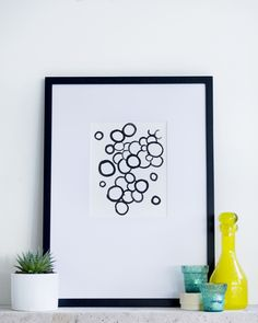 Circles. Limited edition art print. In stock from $40