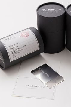 Founderscard Membership Card redesign packaging by Hovard Design