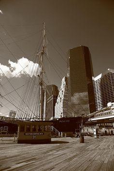 South Street Seaport - New York City. http://frank-romeo.artistwebsites.com/