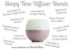Sleepy time diffuser blends