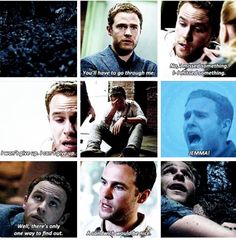 FitzSimmons S3- Fitz's transformation is my absolute FAVORITE.