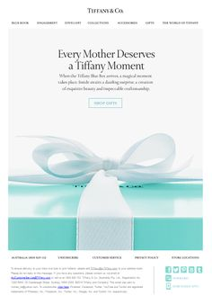 Mother's Day - Tiffany Moment