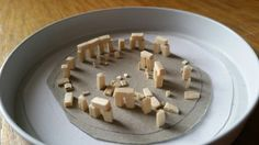 Stonehenge made with matchsticks