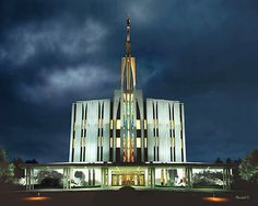 Seattle Temple - Church Of Jesus Christ Of Latter Day Saints