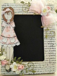 Scrapbook Cafe - Julie Nutting doll stamp class