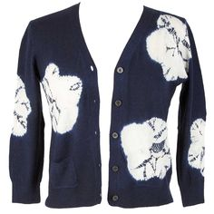 SAMANTHA SUNG Charlotte Flower Shibori cardigan @Luxagogo boutique