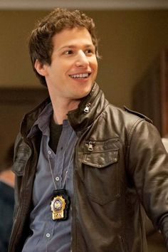 """In Brooklyn Nine-Nine, Samberg is Jake Peralta, the most lovably offbeat detective since Ace Ventura."""