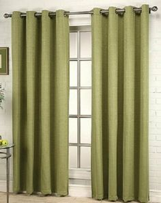 Sage Colored Curtain Panels For Kitchen