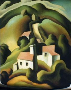 Thomas Hart Benton  -  Chilmark (1923)