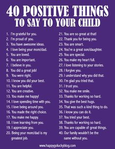 Just Between Us – Parent and Child Journal with 40 positive things to say to your child.