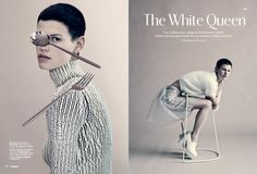 Linder Sterling / Paolo Roversi / Wallpaper Magazine, September 2013